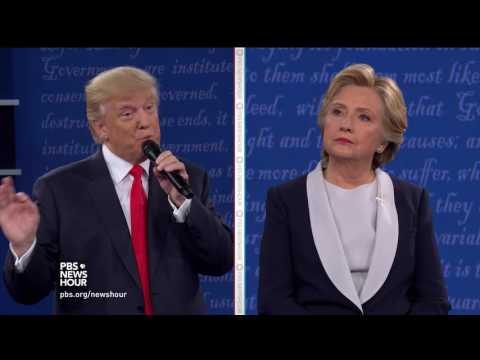 Trump says Clinton is blaming her lies on Abraham Lincoln