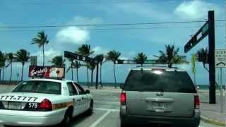 № 2457 США Поехали Miami to Orlando thru Fort Lauderdale Florida