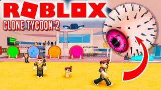 BOSS and NEW PLANET! -Roblox Clone Tycoon 2 Danish