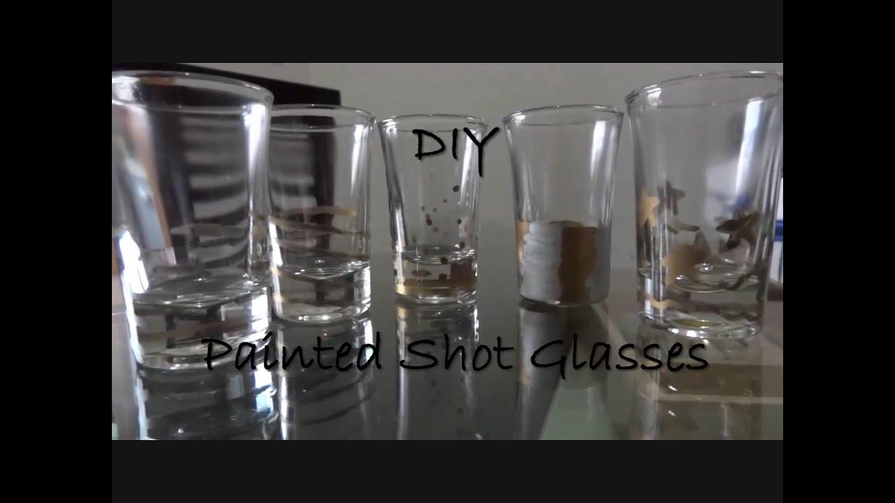 Fun Stuff Diy Painted Shot Glasses