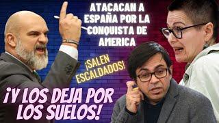 VOX REMATA a la BRASILEÑA de ERC y a PISARELLO tras ATACAR a ESPAÑA por la CONQUISTA de AMÉRICA