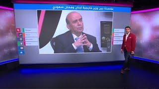 اشتباك لفظي بين وزير خارجية لبنان ومحلل سعودي..هل يتطور إلى أزمة دبلوماسية؟