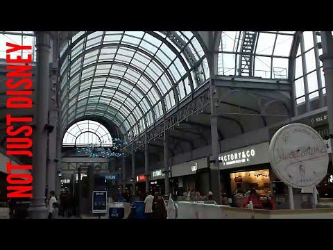Food Hall At Val D'europe Shopping Centre Near Disneyland Paris.