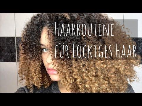 Haarroutine für natürlich lockiges Haar || Luas Looks
