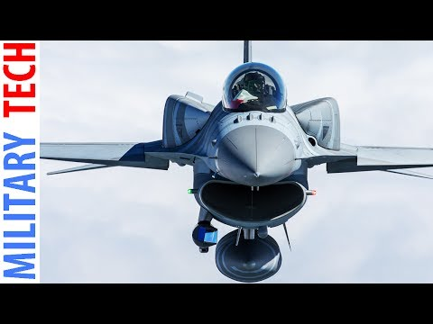 US Air Force F-16 Fighting Falcon In Action