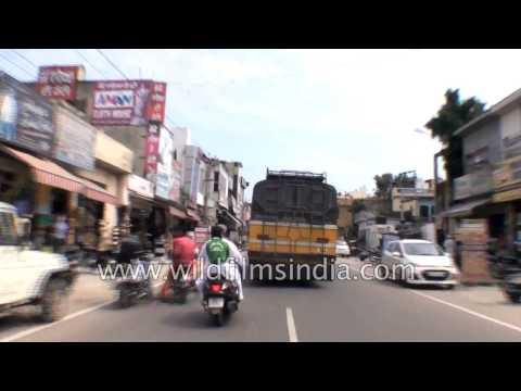 Driving from Hoshiarpur to Garhshankar - Part 4