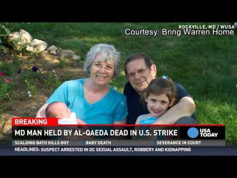 Maryland man 1 of 2 al-Qaeda hostages killed by drone