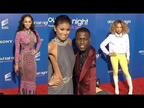 "Kevin Hart, Keri Hilson, Lil' Mama, Michael Ealy, Regina Hall ""About Last Night"" LA Premiere"