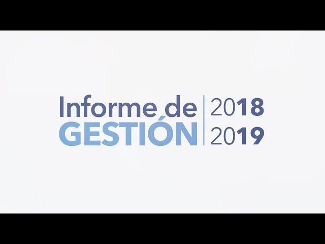 Informe de Gestión 2018 - 2019 Universidad Nacional de Catamarca