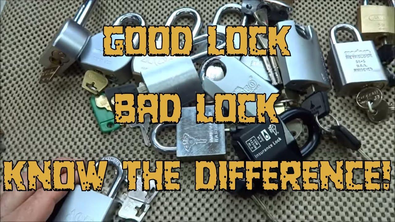 405 Choosing A High Security Lock Youtube