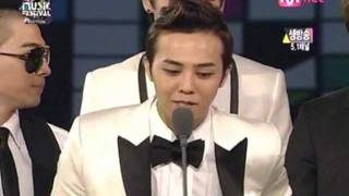 Big Bang - 2008 MKMF - Winning 'Best Male Group' and 'Artist of the Year' - [081115]