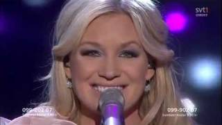 I did it for love - Jessica Andersson( Mfst 2010 FINAL)