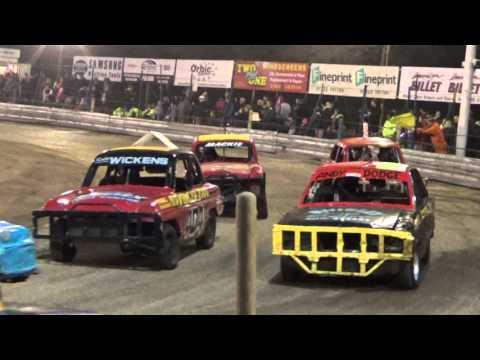 Historic Stock Cars Arlington 31-10-2015
