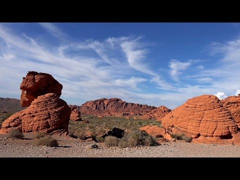 Valley of Fire, Nevada, USA in 4K (Ultra HD)