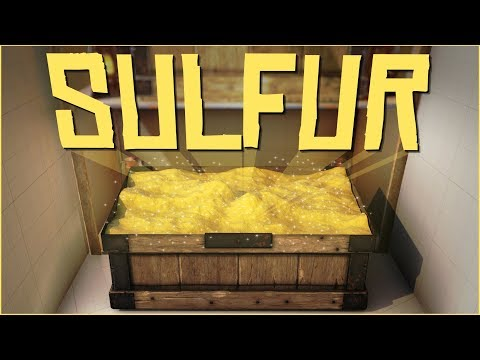 A BOX FULL OF SULFUR - Rust Raids PvP
