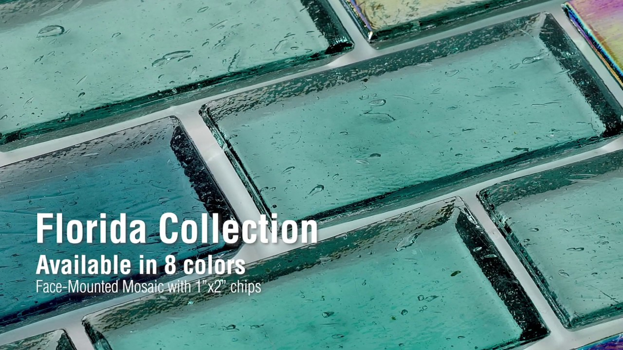 Florida Glass Pool Tile Collection - Made in the USA