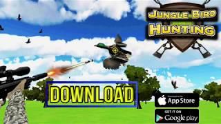 Best Bird Hunting Game - Jungle Birds Hunting Shooting