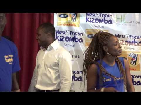 DEMO DES DANSEURS KIZ BENIN AU WEST AFRICAN KIZOMBA FESTIVAL 2017