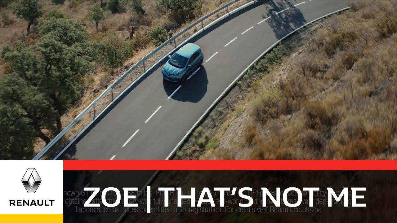 New Renault ZOE | That's Not Me | 245 Mile Range