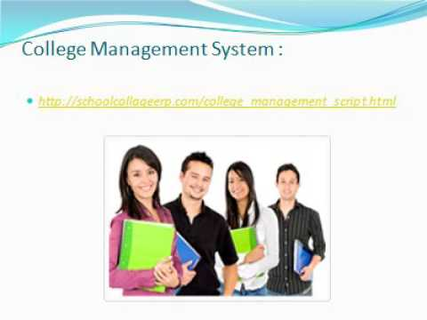 college management system It is a cloud-based, comprehensive college management system featuring class a security, 99% uptime, and free upgrades to help make your job easier.