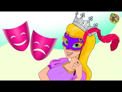 Prenses Rapunzel Masalları OYUNCU   KONDOSAN Türkçe - Çizgi Film Çocuk Masalları Prenses Masalları