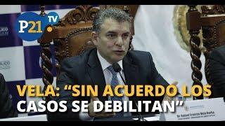 """#EXCLUSIVO RAFAEL VELA: """"SIN ACUERDO LOS CASOS SE DEBILITAN"""" #ENTREVISTA21"""