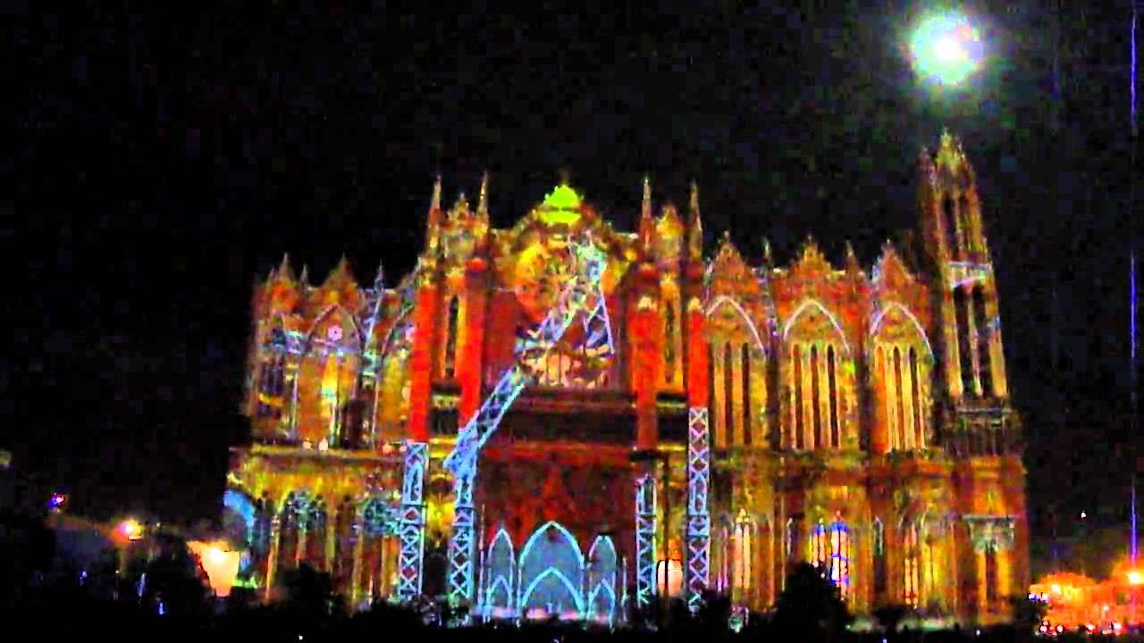 Templo expiatorio espectaculo de luz y sonido gotas de for Portales de chimentos del espectaculo