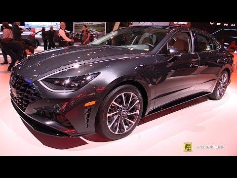 2020 Hyundai Sonata - Exterior and Interior Walkaround - Debut at 2019 NY Auto Show
