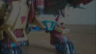 zoids seismosaurus gold and speed metal