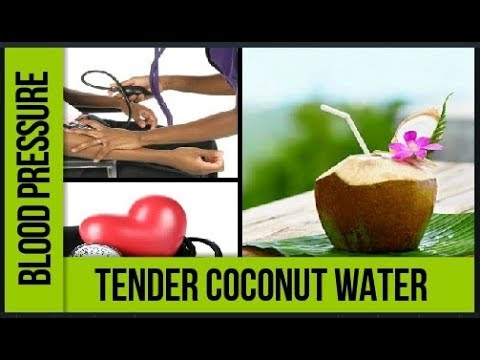 Reduce High Blood Pressure Naturally |  Blood Pressure And Coconut Water | Hypertension