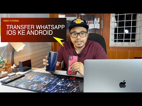 MEMINDAHKAN CHAT WHATSAPP ANDROID KE IPHONE IOS  | TUTORIAL CARA MUDAH.