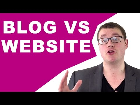 What's the Difference Between a Blog vs Website?