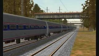 MSTS Amtrak Railfanning
