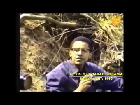 Barack Obama Smoking Weed Talking About Kenya