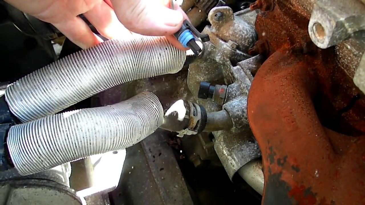 GM 22L Ecotec Coolant Temperature Sensor Replacement