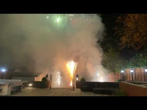 Insane Backyard Fireworks November 2019 - iPhone 11 Pro 4K