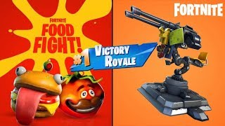 How to win every Food Fight in Fortnite