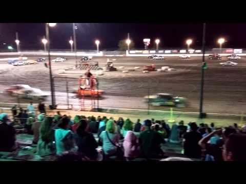 Sycamore Speedway Spectator 25 Lapper 08/14/2015