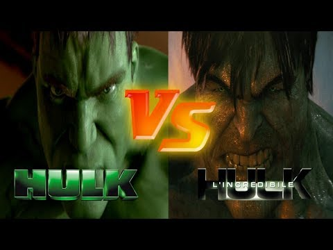Hulk (2003) vs L' Incredibile Hulk (2008)