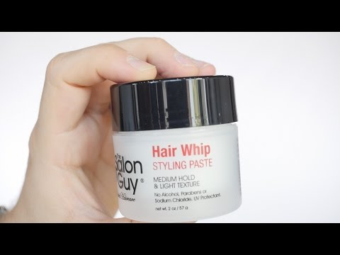 Product for Light/Medium Hold - Hair Whip - TheSalonGuy streaming vf