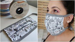 Mascara de Amarrar – Sem Elástico