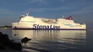 StenaLine Fähre MECKLENBURG-VORPOMMERN in Rostock einlaufend