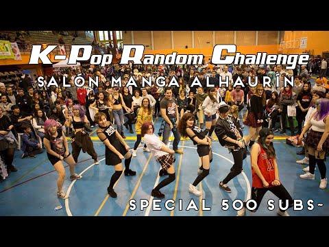 RANDOM KPOP CHALLENGE @MangaAlhaurin [ESPECIAL 500 SUBS]