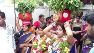 T Sandeep Goud asif nagar bonalu with rakesh bonam