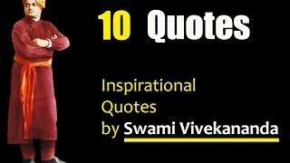 10 Inspirational Quotes By Swami Vivekananda - English