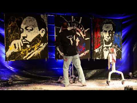 Speed painter Tom Varano inspires and educates with performance (video)