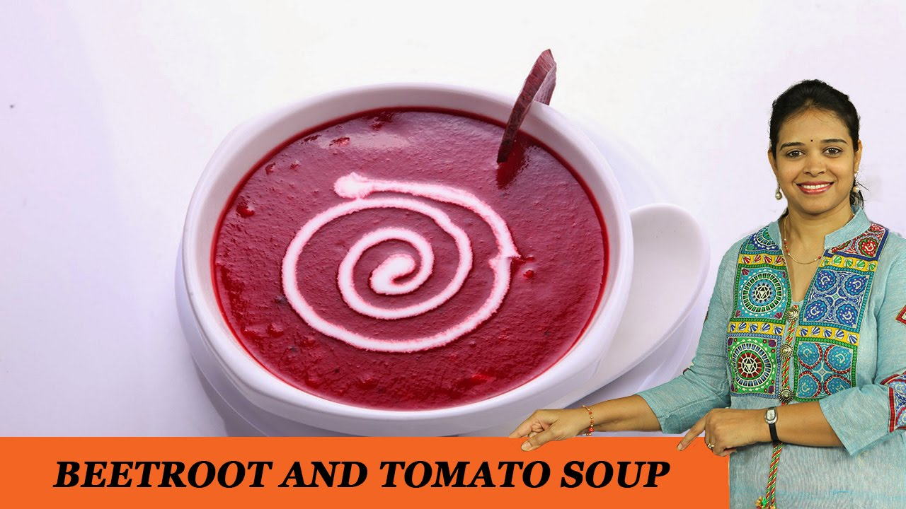 Beetroot And Tomato Soup Mrs Vahchef