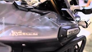Whelen EURO1 & Fedsig Vama H2 on a Triumph Tiger Explorer, by blink