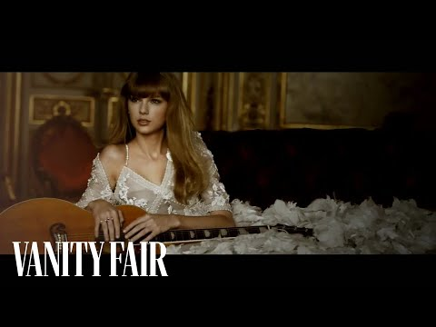 Taylor Swift Breaks Out Her Guitar at Parisian Photo Shoot - Cover Shoot - Vanity Fair