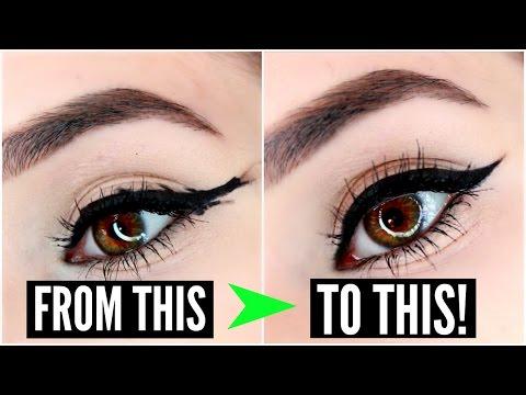 12 EYELINER HACKS for FLAWLESS Winged Eyeliner Every Time!   SylviaGani